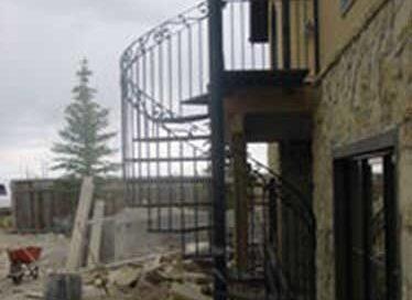 R15 - Spiral Staircase Calgary
