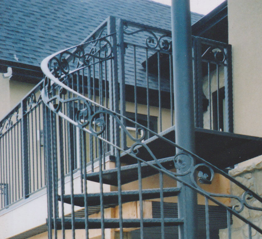 custom iron stairs Calgary