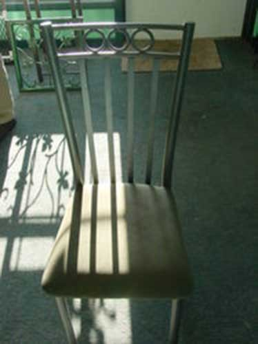 custom wrought iron metal chair