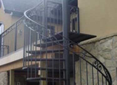 custom iron staircase Calgary