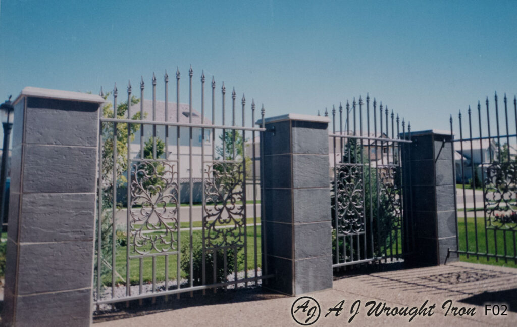 decorative casting metal fence
