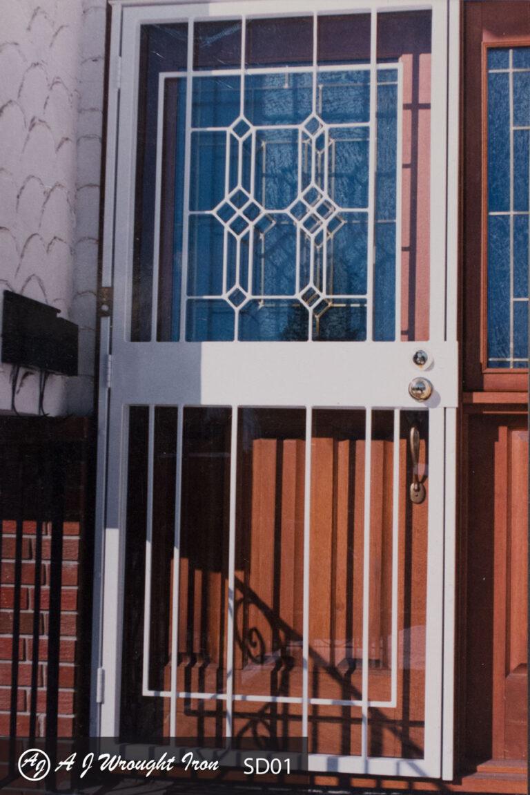 Custom security door