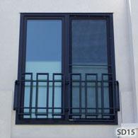 modern security bars for windows