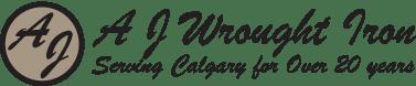 AJ Wrought Iron Logo