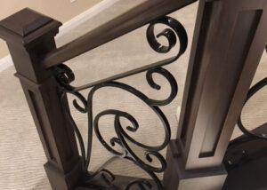 forged ornamental railing