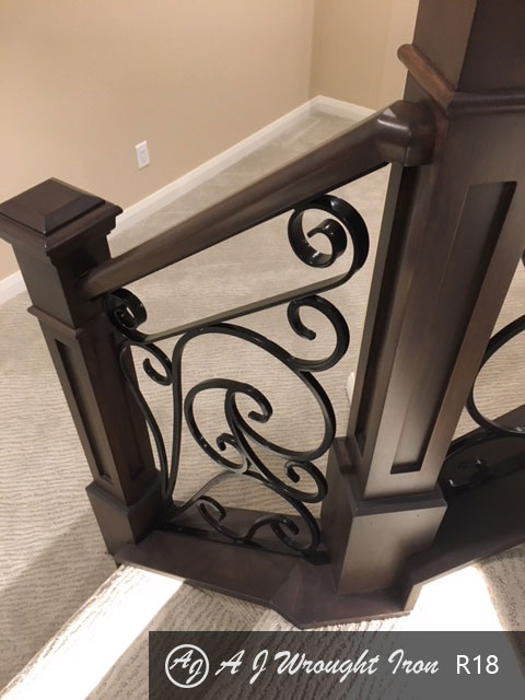 forged ornamental railing