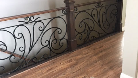 ornamental residential railing