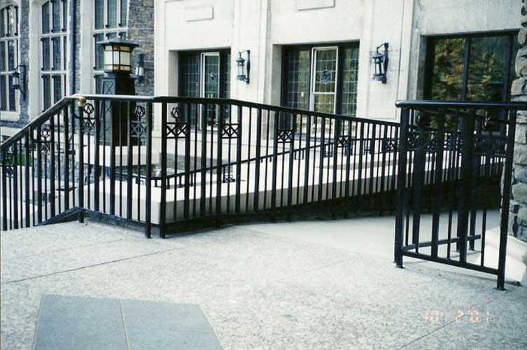 exterior condo railing - commercial railings