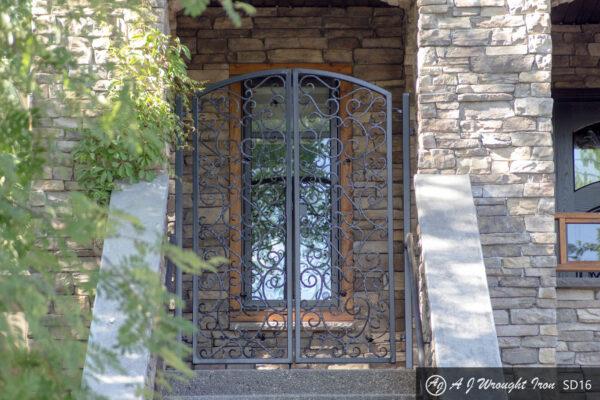 ornamental security door
