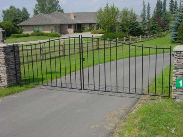 simple estate gates