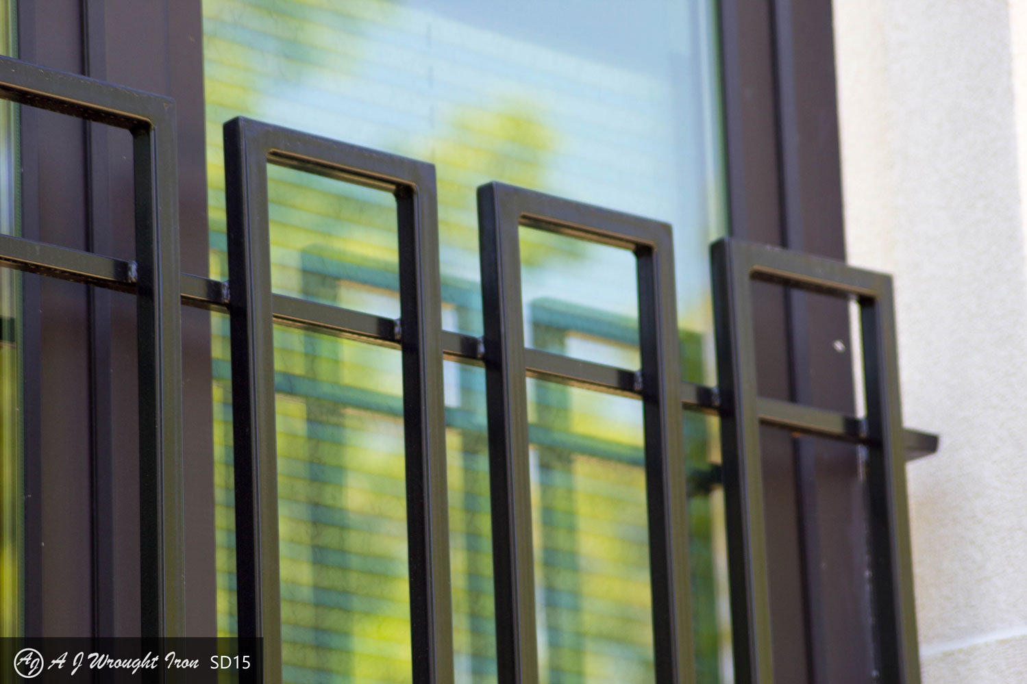 Modern/Contemporary Exterior Window Bars and Railings - AJ ... on Exterior Grill Design id=11873