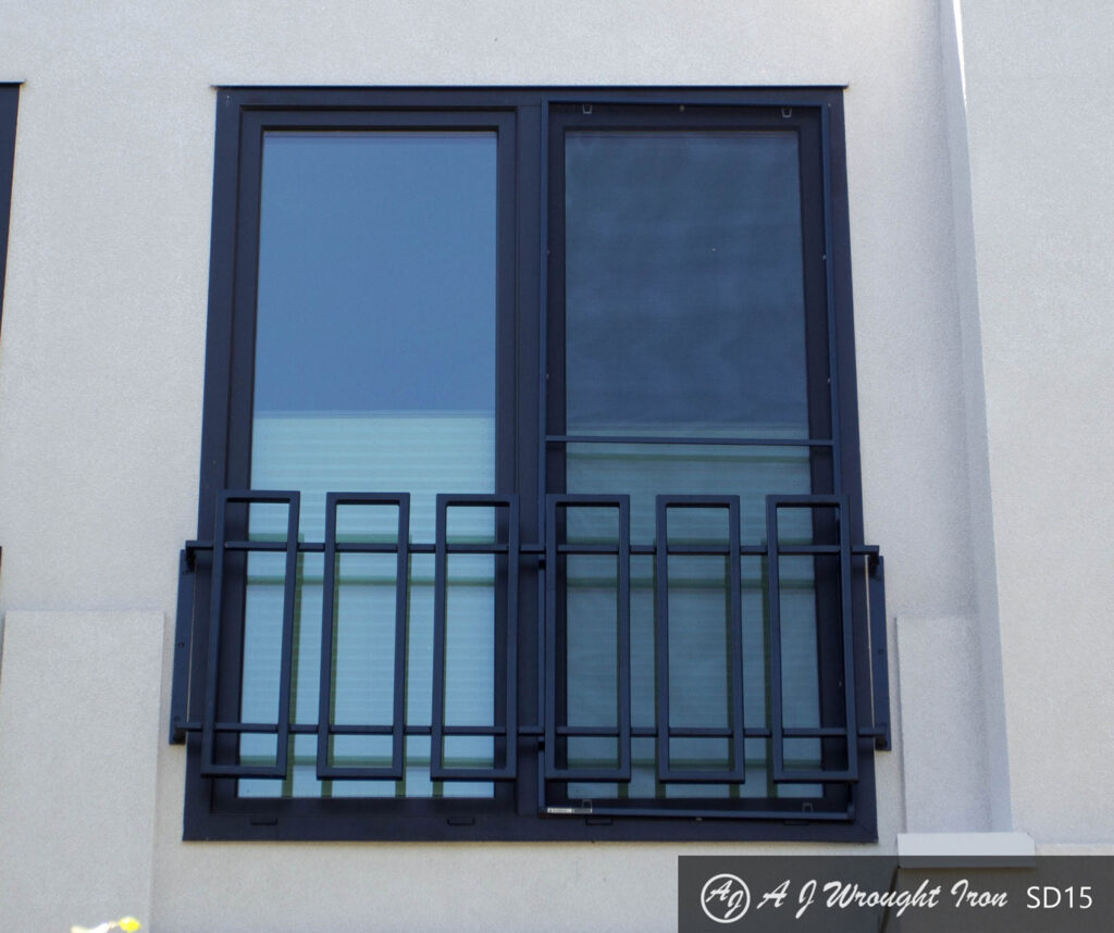 Modern Window Security Bar