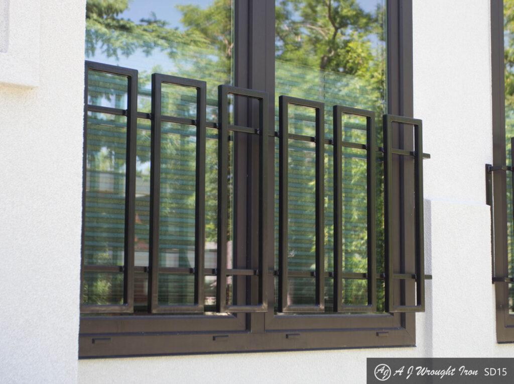 Modern/Contemporary Exterior Window Bars and Railings - AJ ...