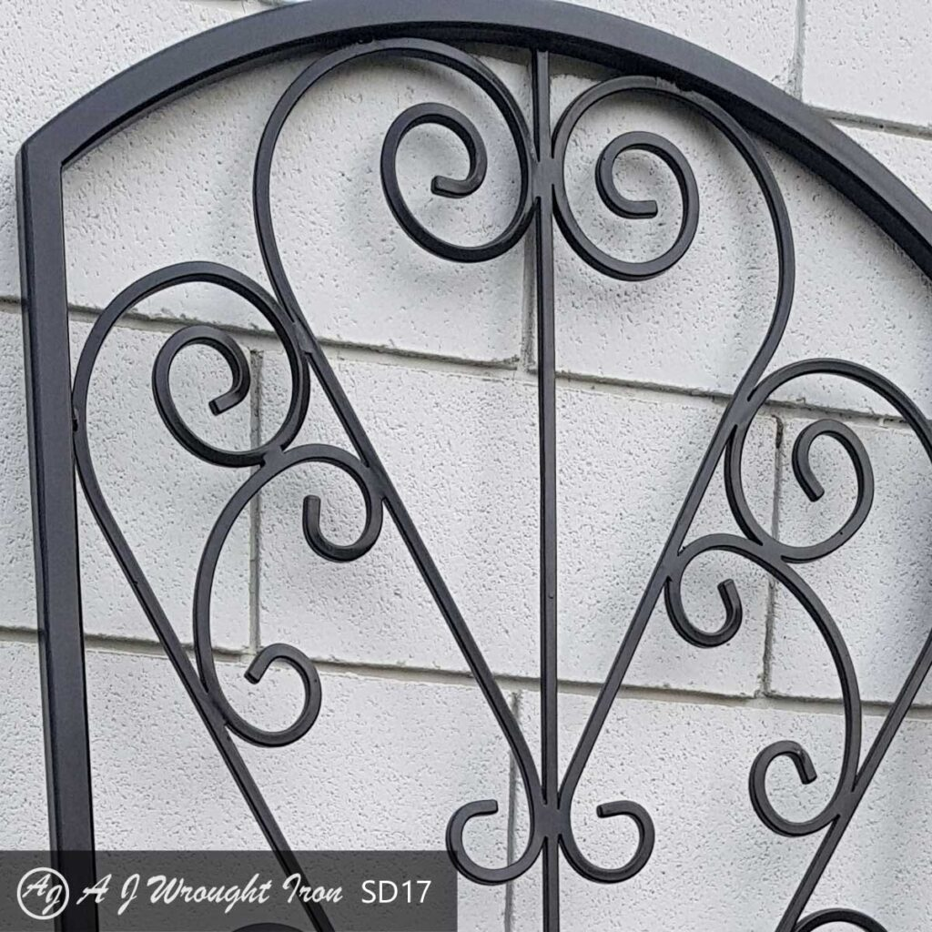 ornamental security window bars - calgary