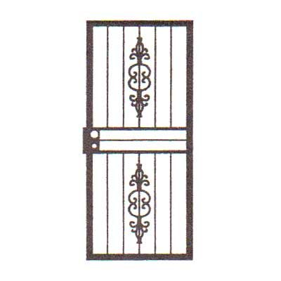 security bars for door - design 02