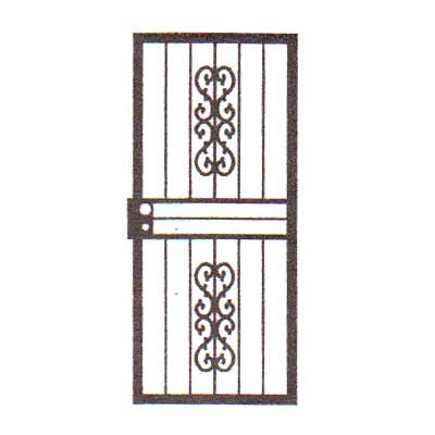 security bars for door - design 04
