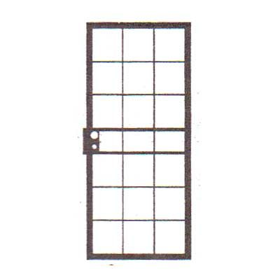 security bars for door - design 07