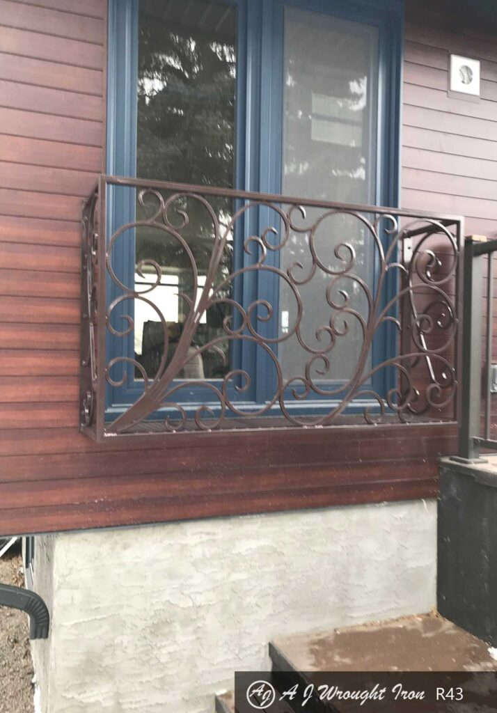 Forged Balcony Railing